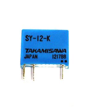 100X Takamisawa Small Size Sy-12-K 12V Spdt Signal Relay.