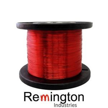 17 AWG Gauge Enameled Copper Magnet Wire 5.0 lbs 797 Length 0.0469 155C Red