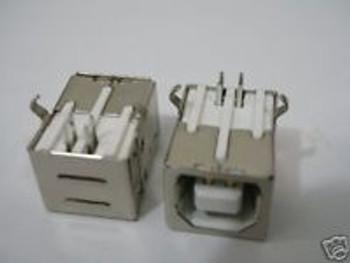 1000,USB Type-B Female Right-Angle PCB Mount Jack ,34