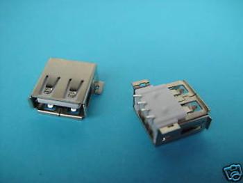 1000pcs,USB 4 Pin 4P Female Panel Connector Jack SMT,PK5