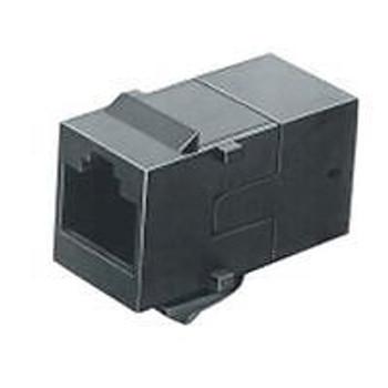 TE CONNECTIVITY / AMP 555052-1 IN LINE COUPLER, RJ45 JACK-RJ45 JACK (50 pieces)