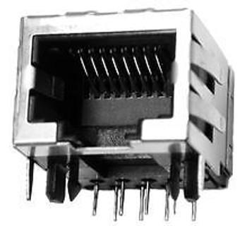 EDAC A00-108-622-450 CAT5 RJ45 MODULAR JACK, 8POS, 1 PORT (100 pieces)
