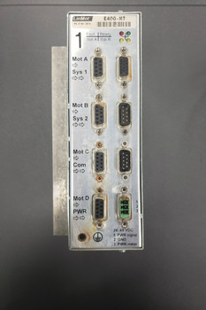 Original LINMOT E400-MT 4 AXIS CONTROLLER #U0AJ