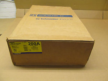 1 NIB SQUARE D H364RB 200 AMP 600 VOLTS HEAVY DUTY SAFETY SWITCH SERIES F05