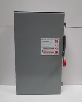 Eaton DH324NRK 200A Rainproof Type 3R Heavy Duty Safety Switch 240V 4W 3P