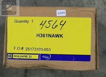 Square D H361NAWK Heavy Duty Safety Switch 600V 30A