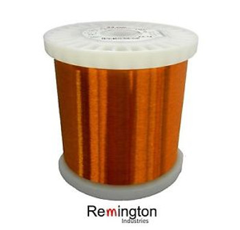 42 Awg Gauge Heavy Formvar Copper Magnet Wire 5.69Lbs 0.0029 105C Amber Mw-15-C