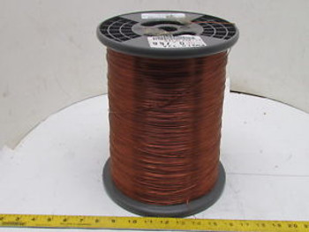 Enamelled Heavy Magnet Wire 0.766Mm Dia 60Lb Roll 18 Awg Copper Coil Winding