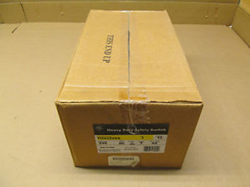 1 NIB GE TH4322SS SAFETY SWITCH 240V 60A 3P ENCLOSURE TYPE 4X MODEL 12