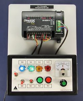Automation Direct PLC Trainer, Training Lessons Analog