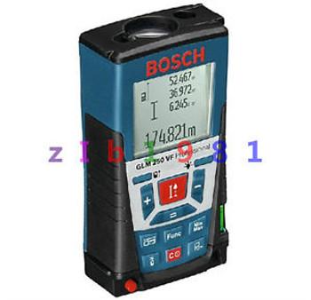 BOSCH GLM250VF Handheld Laser Distance Meter Tester Professional Rangefinder NEW