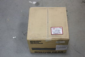 NEW BOSTON GEAR RIGHT ANGLE WORM SPEED REDUCER 200:1