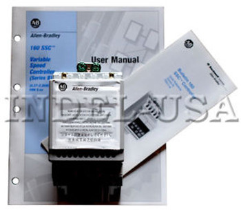 &lt&ltNEW&gt&gt Allen-Bradley Drive 160-AA04NPS1P1 Ser.B w/User Manual & Bulletin 160SSC
