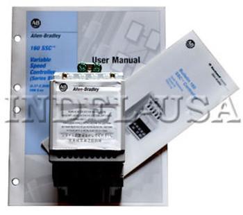 &lt&ltNEW&gt&gt Allen-Bradley Drive 160-AA04NPS1P1 Ser.B w/User Manual & Bulletin 160SSC