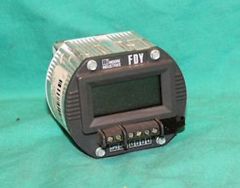 Moore Industries FDY/PRG/4-20MA/12-42DC Prg. Frequency to Current Transmitter