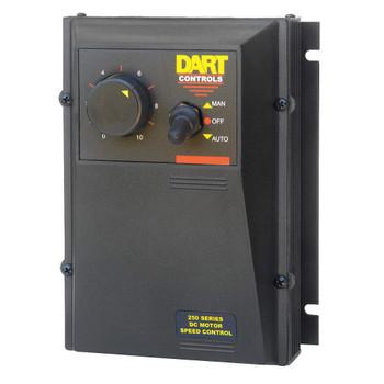 DART CONTROLS DC Speed Control,90/180VDC,10A,NEMA 4X, 253G-200E-7