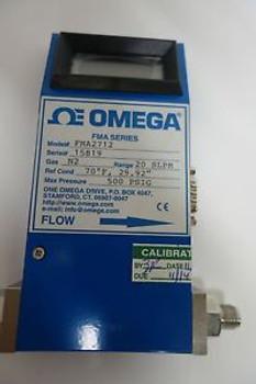 omega stainless steel mass flowmeter FMA2712