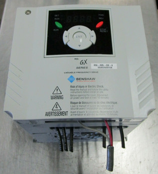 Benshaw Rsi-001-Gx-4 Variable Frequency Drive Gx Series Rsi001Gx4