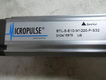 (M7) 1 New BALLUFF BTL-5-E10-M1220-P-S32 MICROPULSE LINEAR TRANSDUCER