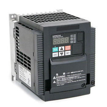 HITACHI WJ200-015SF,VARIABLE FREQUENCY DRIVE, 2 HP, 230 VAC, SINGLE PHASE INPUT