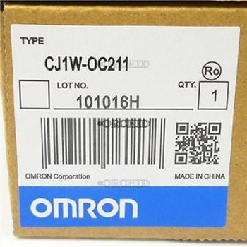 RELAY NEW CJ1WOC211 CJ1W-OC211 OMRON CONTACT UNITS MODULE PLC OUTPUT