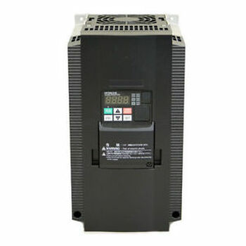 HITACHI WJ200-075HF,VARIABLE FREQUENCY DRIVE, 10 HP, 460 VAC, THREE PHASE INPUT