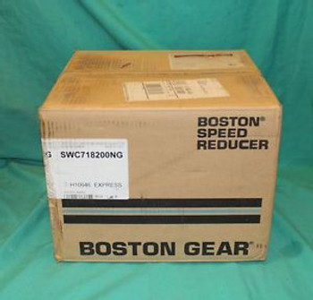 Boston, SWC718200NG, Worm Gear Speed Reducer NEW