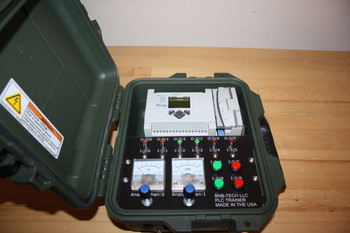 Allen Bradley Micrologix 1100 1763-L16BWA ma Analog Trainer and PLC Software