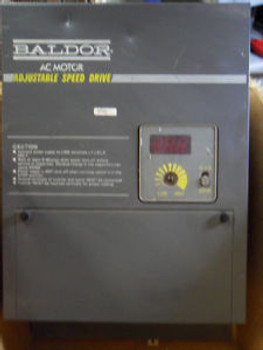 (H7) NEW BALDOR 1D11405-E8 AC MOTOR 5 HP ADJUSTABLE SPEED DRIVE