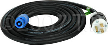 PowerCon Cable PowerCon to AC Male 3 prong 50ft