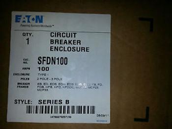 Cutler Hammer SFDN100 100AMP NEW IN BOX