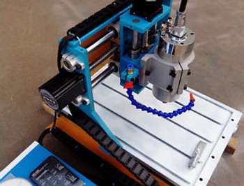 4 Axis 3040 CNC Router Engraver Drilling Milling Machine Cutter steel structure
