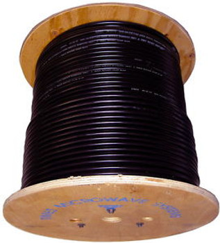 LMR-400 Times Microwave Cable 450ft roll on a wooden spool