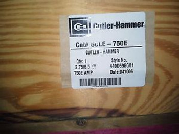 6 CUTLER HAMMER 5CLE-750E  449D59G01 Medium Voltage fuses