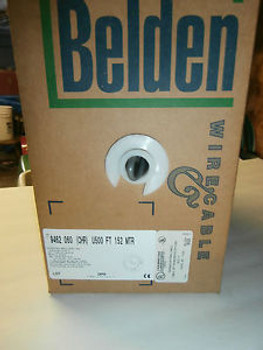 Belden 9462 Audio Control Cable 1 Pair 22 AWG, 500 Feet,NOS