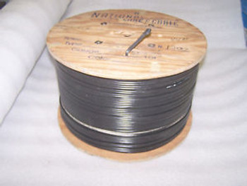 NATIONAL WIRE & CABLE P/N S10 3920 B LOW CAPACITANCE WIRE 1226FT SPOOL