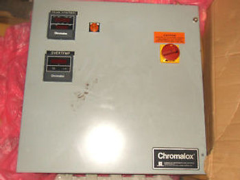 (000 BACK) 1 New CHROMALOX 4632-40430 TEMPERATURE CONTROL PANEL