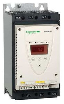 SCHNEIDER ELECTRIC ATS22D62S6U Soft Start, 208-600VAC,63Amp,3 Phase