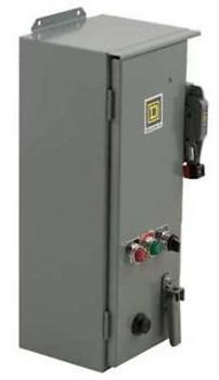 SQUARE D 8538SDA22V02CH20P51P52SX22Y74 Combination Motor Starter,60A,15 HP 230V