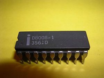 Intel D8008-1 (C8008-1) 8-Bit Microprocessor (CPU) - Extremely Rare Variety