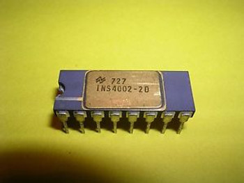 National Semiconductor (NS, NSC) INS4002-2D (C4002-2) - Extremely Rare