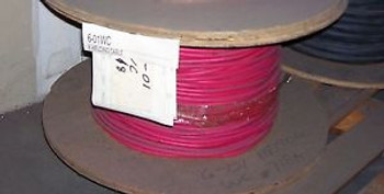 #6 Welding Cable. Extra Flexible Wire. 718 reel. Red Jacket.