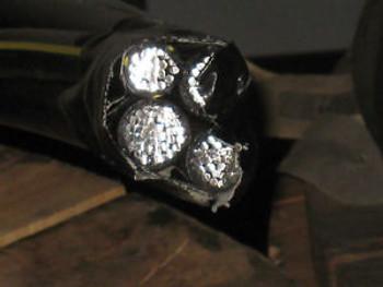 150 Aluminum URD Earlham 4/0 4/0 4/0 4/0 Quadruplex Black 600 Volt