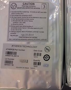 AR6001XL-BC1A AR6001XL Embedded 802.11a/b/g Solution (1840 PER FACTORY PKG)