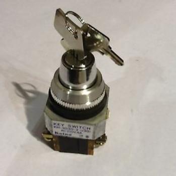 Koino KH-3030-2 2Position Key Switch AC250V,6A