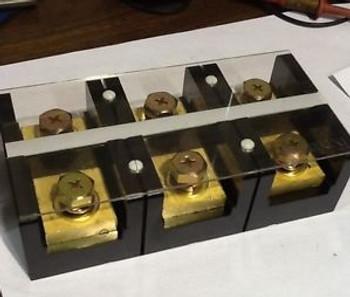 Koino KH-60500-3 3Pole Terminal Block AC250,500Amps (600v Max)