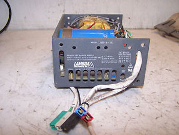 LAMBDA 15 VDC OUTPUT POWER SUPPLY LNS-X-15  105 - 127 OR 210 - 250 VAC INPUT