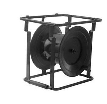 Portable robust for long cables light steel extension cable reel/drum