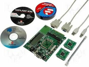 Microchip DV164033 MPLAB ICD 2 with Explorer 16 Kit