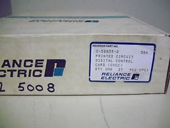 Reliance Electric control card (CVCC) Part # 0-52855-2